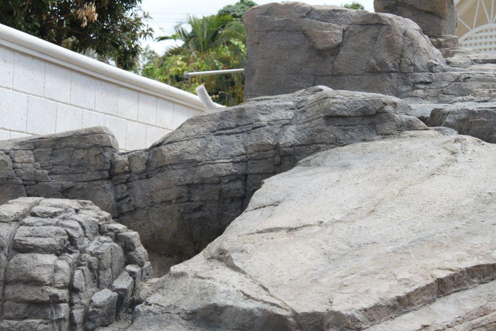artificial rock pool