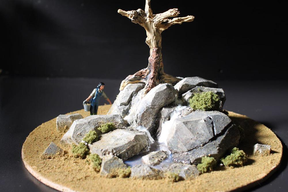 Concept model of kea habitat